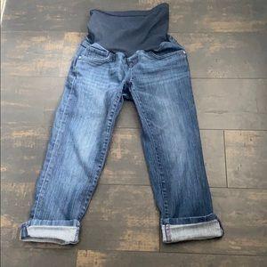 Cropped/Capri Maternity Jeans